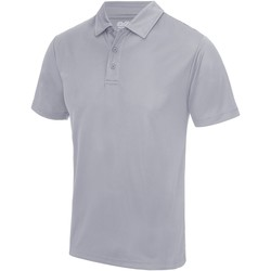 Textiel Heren Polo's korte mouwen Just Cool JC040 Heide Grijs