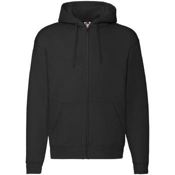 Textiel Heren Sweaters / Sweatshirts Fruit Of The Loom Hooded Zwart