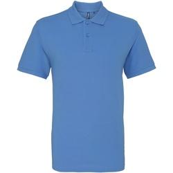 Textiel Heren Polo's korte mouwen Asquith & Fox AQ010 Korenbloem