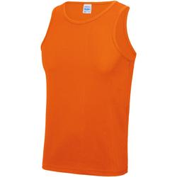 Textiel Heren Mouwloze tops Just Cool JC007 Elektrisch Oranje
