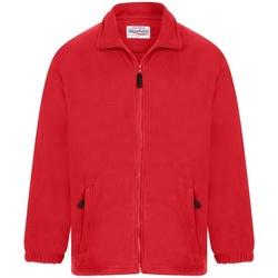 Textiel Heren Fleece Absolute Apparel Heritage Rood