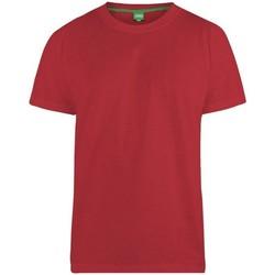 Textiel Heren T-shirts korte mouwen Duke  Rood