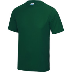 Textiel Heren T-shirts korte mouwen Just Cool Performance Fles groen