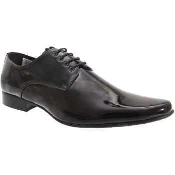Schoenen Heren Derby Goor  Zwart octrooi