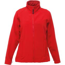 Textiel Dames Fleece Regatta TRA645 Klassiek rood/grijs