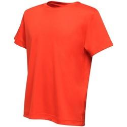 Textiel Kinderen T-shirts korte mouwen Regatta RA011B Klassiek rood