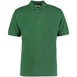 Textiel Heren Polo's korte mouwen Kustom Kit Klassic Fles groen