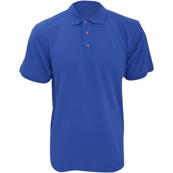 Textiel Heren Polo's korte mouwen Kustom Kit Work Koningsblauw