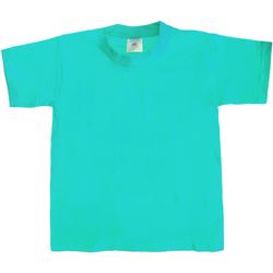 Textiel Kinderen T-shirts korte mouwen B And C Exact 190 Zwembad
