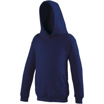 Textiel Kinderen Sweaters / Sweatshirts Awdis Hooded Marine Oxford