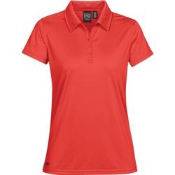 Textiel Dames Polo's korte mouwen Stormtech Pique Helder rood