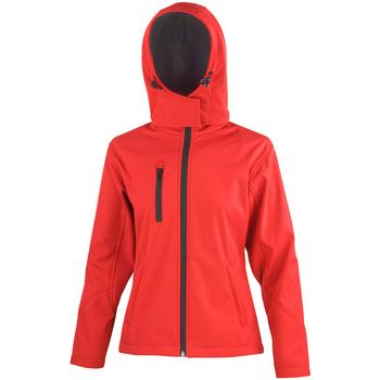 Textiel Dames Wind jackets Result R230F Rood/zwart