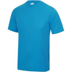 Textiel Kinderen T-shirts korte mouwen Awdis JC01J Saffierblauw