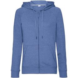 Textiel Dames Sweaters / Sweatshirts Russell J284F Blauwe mergel