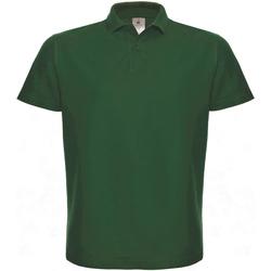 Textiel Dames Polo's korte mouwen B And C ID.001 Fles groen