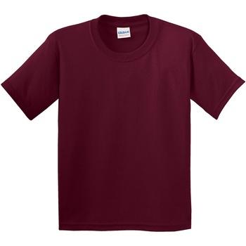 Textiel Kinderen T-shirts korte mouwen Gildan 5000B Marron