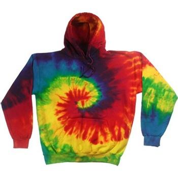 Textiel Heren Sweaters / Sweatshirts Colortone Pullover Regenboog