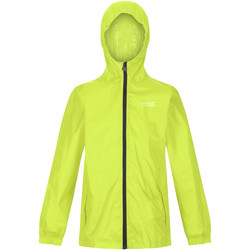 Textiel Kinderen Jacks / Blazers Regatta Pack It Lime Punch