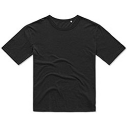 Textiel Heren T-shirts korte mouwen Stedman Stars Organic Zwart
