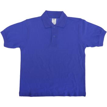 Textiel Kinderen Polo's korte mouwen B And C Safran Koninklijk
