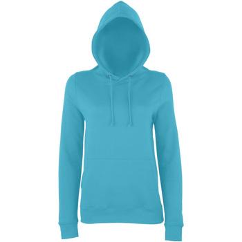 Textiel Dames Sweaters / Sweatshirts Awdis Girlie Turquoise Surf