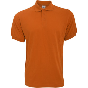 Textiel Heren Polo's korte mouwen B And C PU409 Pompoen Oranje