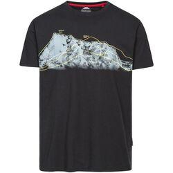 Textiel Heren T-shirts korte mouwen Trespass Cashing Zwart