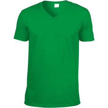 Textiel Heren T-shirts korte mouwen Gildan 64V00 Iers Groen