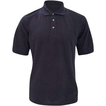 Textiel Heren Polo's korte mouwen Kustom Kit Chunky Marineblauw