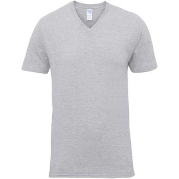 Textiel Heren T-shirts korte mouwen Gildan Premium Sportgrijs