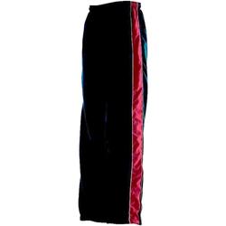 Textiel Kinderen Trainingsbroeken Finden & Hales Contrast Marine / Rood / Wit