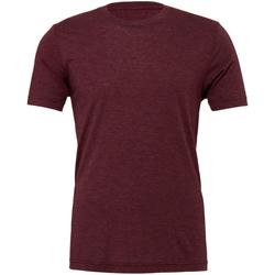 Textiel Heren T-shirts korte mouwen Bella + Canvas Triblend Marron Triblend