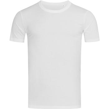 Textiel Heren T-shirts korte mouwen Stedman Stars Morgan Wit