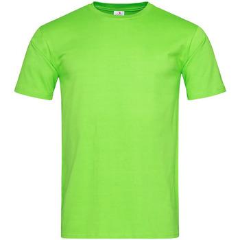 Textiel Heren T-shirts korte mouwen Stedman Classic Groen