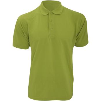 Textiel Heren Polo's korte mouwen Kustom Kit Klassic Appelgroen