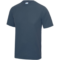 Textiel Heren T-shirts korte mouwen Just Cool Performance Luchtmacht Blauw
