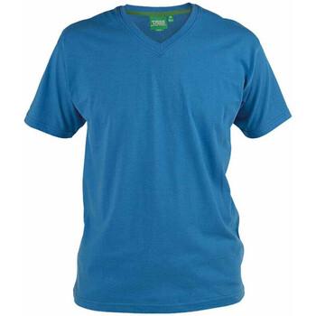Textiel Heren T-shirts korte mouwen Duke Signature-2 Blauw