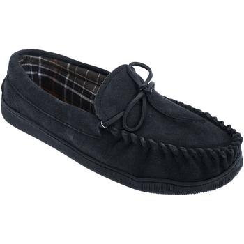 Schoenen Heren Sloffen Sleepers Moccasin Marineblauw