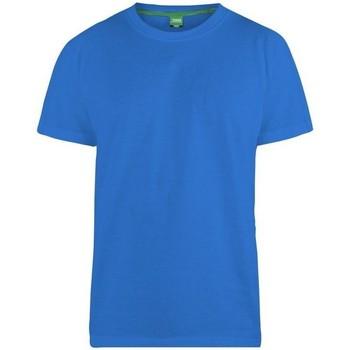 Textiel Heren T-shirts korte mouwen Duke  Blauw