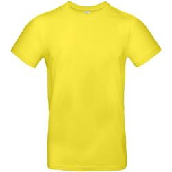 Textiel Heren T-shirts korte mouwen B And C TU03T Zonne-Geel