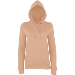 Textiel Dames Sweaters / Sweatshirts Awdis Girlie Naakt