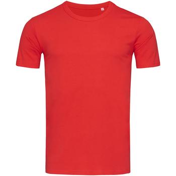 Textiel Heren T-shirts korte mouwen Stedman Stars Morgan Rood