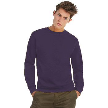 Textiel Heren Sweaters / Sweatshirts B And C WUI20 Stralend paars