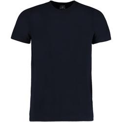 Textiel Heren T-shirts korte mouwen Kustom Kit KK504 Marineblauw