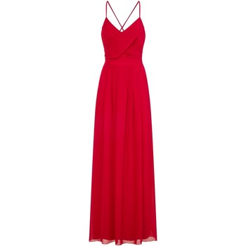 Textiel Dames Lange jurken Girls On Film  Rood