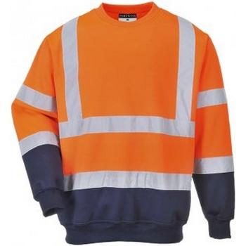 Textiel Heren Sweaters / Sweatshirts Portwest PW668 Oranje/Zwaar
