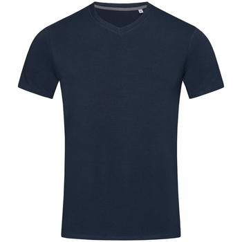 Textiel Heren T-shirts korte mouwen Stedman Stars Clive Jachthaven Blauw
