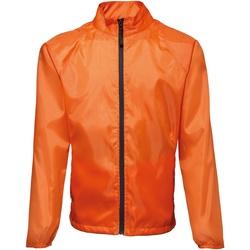 Textiel Heren Windjacken 2786 TS011 Oranje/ Zwart