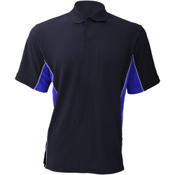 Textiel Heren Polo's korte mouwen Gamegear Pique Marine / Loyaal / Wit