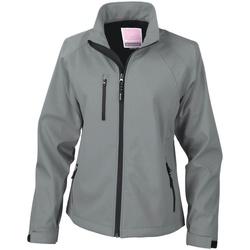 Textiel Dames Wind jackets Result Breathable Zilvergrijs